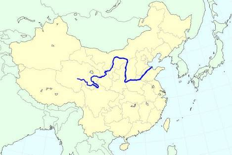 ฮวงโห, หวงเหอ, แม่น้ำเหลือง, ๙ิงไห่, กานซุ๋, ลั่วหยาง, ไคฟง, เหอหนาน, ทำเลมังกร