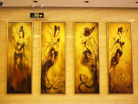 ฮวงจุ้ยธุรกิจ, รูปภาพกับฮวงจุ้ย, ฮวงจุ้ยรูปภาพ, สี่หญิงงาม