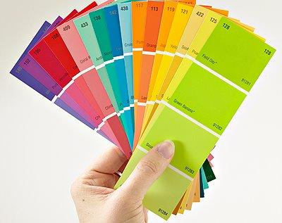 ฮวงจุ้ยธุรกิจ, รูปภาพกับฮวงจุ้ย, ฮวงจุ้ยรูปภาพ, เทคนิคการใช้สีโทนร้อน