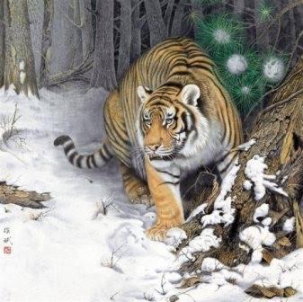 เรียนฮวงจุ้ย, ฮวงจุ้ยพื้นฐาน, มังกรเขียว เสือขาว, 4 สัตว์เทพ, เจียงไท่กง