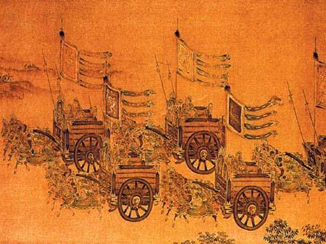 ประวัติศาสตร์จีน,  ราชวงศ์โจว,  เจียงจื่อหยา, ต้าจี, เปาสือ, ลั่วหยาง